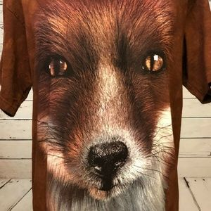 The Mountain T-Shirt Medium Brown Dog NWOT T Shirt